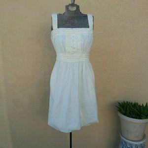 BCBGMAXAZRIA White Dress